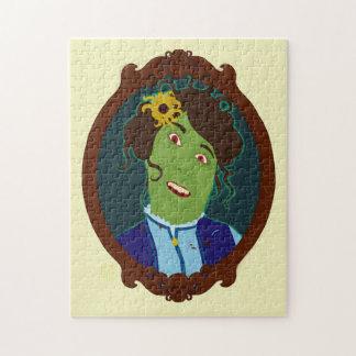 Zombie Portrait Jigsaw Puzzle