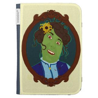 Zombie Portrait Kindle Case