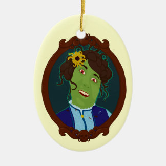 Zombie Portrait Ornament