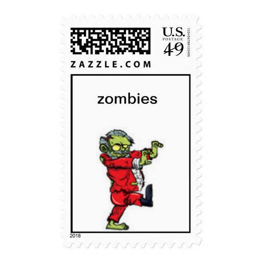 zombie post stamp
