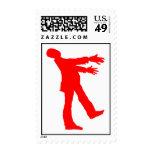 Zombie Postage Stamp
