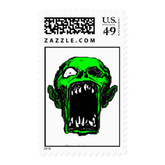 Zombie Postage Stamps