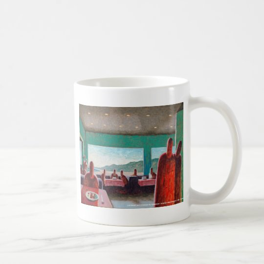 Zombie Power Lunch Coffee Mug