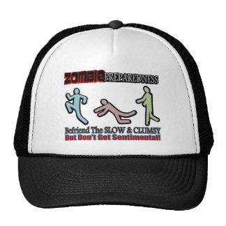 Zombie Preparedness Befriend Slow Design Hat