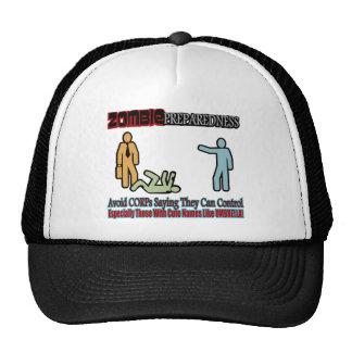 Zombie Preparedness Corp Control Design Mesh Hat