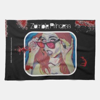 Zombie Princess American MoJo Kitchen Towel