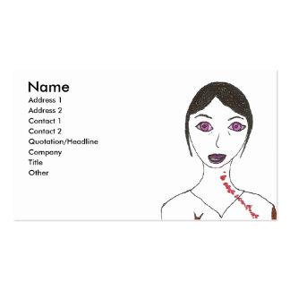Zombie Princess Business Card