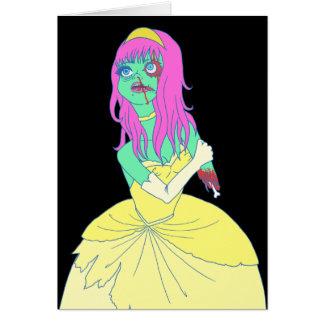 Zombie Princess Card