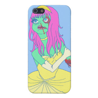 Zombie Princess Case For iPhone 5