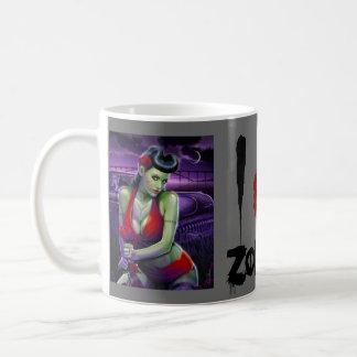 zombie princess coffee mug