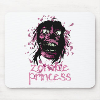 Zombie Princess Mouse Pad