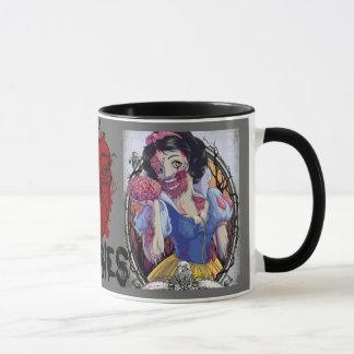 zombie princess mug