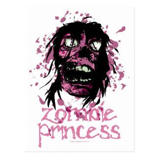Zombie Princess Postcard
