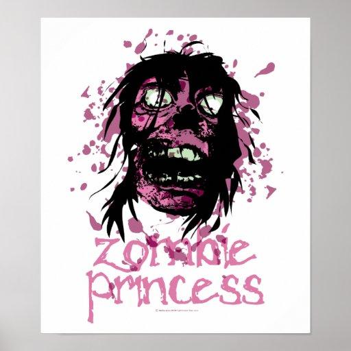 Zombie Princess Poster