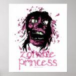 Zombie Princess Print