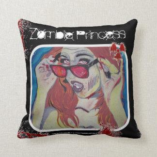 'Zombie Princess' (Throw) American MoJo Pillow