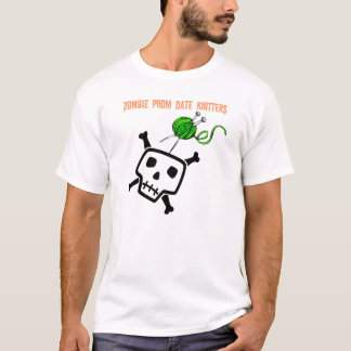 Zombie Prom Date Knitters T-Shirt