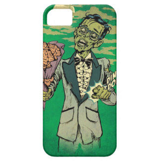 zombie prom date with brain roses iPhone 5 cases