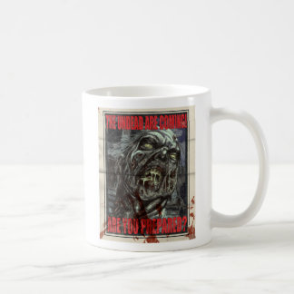 Zombie Propaganda Poster Coffee Mug