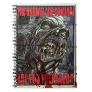 Zombie Propaganda Poster Note Book