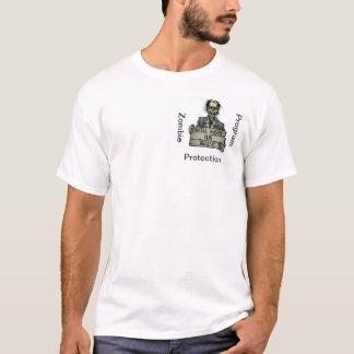 Zombie Protection Program Shirt