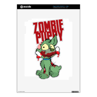Zombie Puppy Decals For The iPad 2