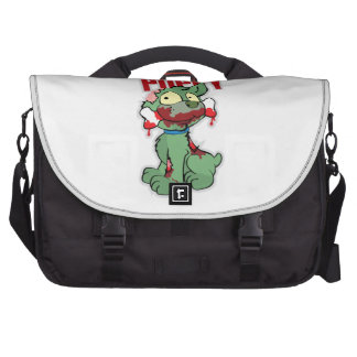 Zombie Puppy Laptop Bags