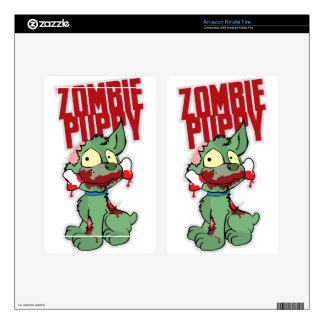 Zombie Puppy Skin For Kindle Fire