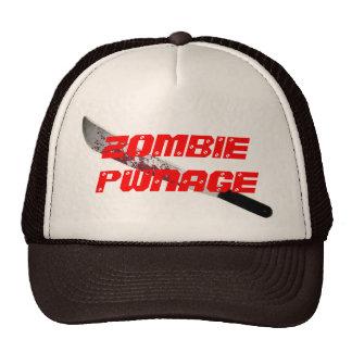 ZOMBIE PWNAGE TRUCKER HAT