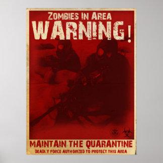Zombie Quarantine Poster
