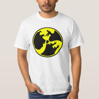 Zombie radioactive sign shirt