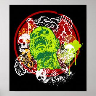 Zombie Raid Poster
