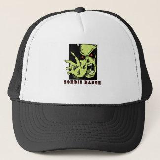 Zombie Ranch Attack Trucker Hat