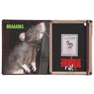 zombie rat iPad Dodo folio case