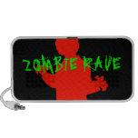 Zombie Rave Mini Speakers