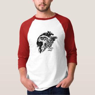 Zombie Raven Sketch T-Shirt