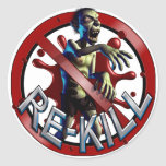Zombie Re-Kill Count Stickers
