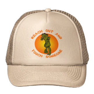 Zombie Reach Out and Touch Products Trucker Hat