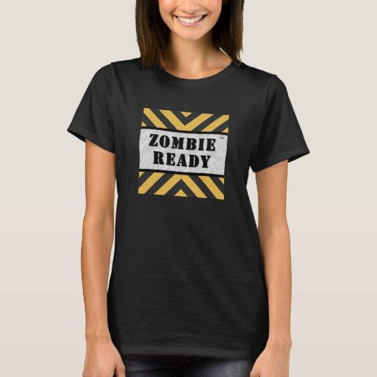Zombie Ready Ladies Tshirt