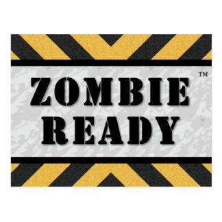 Zombie Ready Post Card