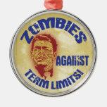 Zombie Reagan - Term Limits Ornaments