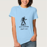 zombie, real zombies don't run t-shirts