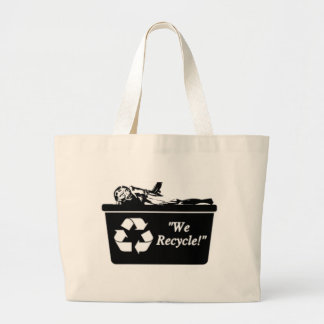 Zombie Recycle Tote Bag
