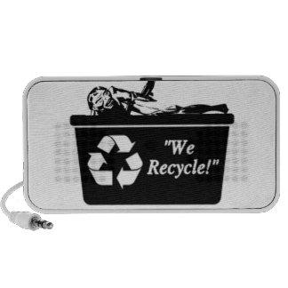 Zombie Recycle Speakers