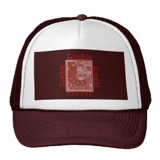 Zombie Red and White Hats
