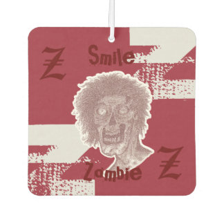 Zombie - Red/White Air Freshener
