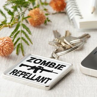 Zombie Repellant Keychains