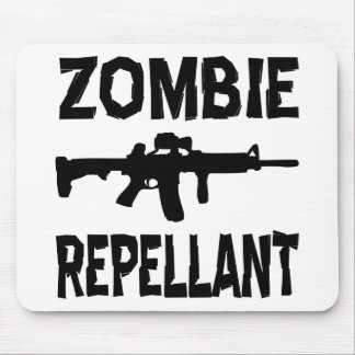 Zombie Repellant Mouse Pad