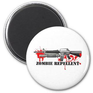 Zombie Repellent 2 Inch Round Magnet