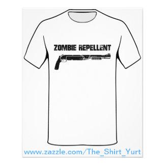 """Zombie Repellent 4.5"""" X 5.6"""" Flyer"""